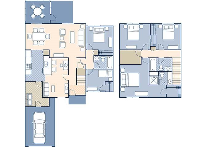 Ribault Bay 1548 Floor Plan 16